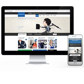 Weboldal készítés - katalógus
